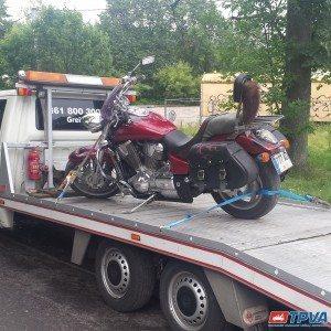 Motociklo transportavimas 01