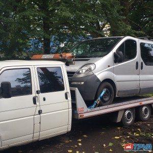 automobilio pervezimas