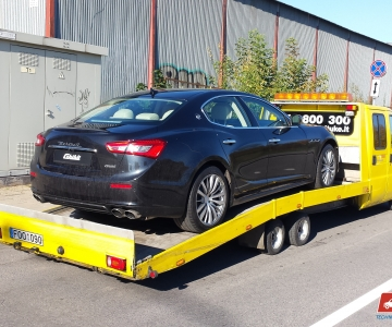 TPVA nario naujo automobilio transportavimas