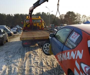 TPVA technine pagalba kelyje Peugeot 206 RC