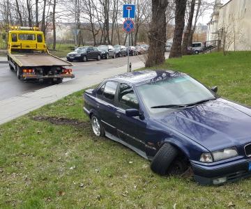 TPVA BMW transportavims po avarijos