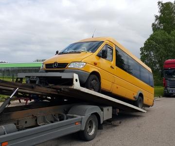 TPVA autobuso transportavimas Elektrenai – Kaunas